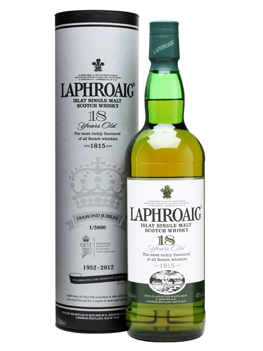 Laphroaig 18 Queen's Diamond Jubilee