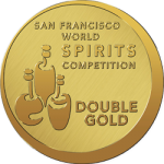 San Fran World Spirits Competition Double Gold