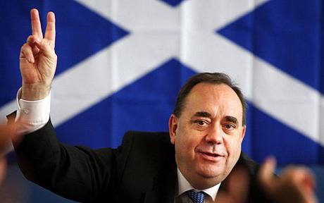 Премьер-министр Шотландии Алекс Салмонд