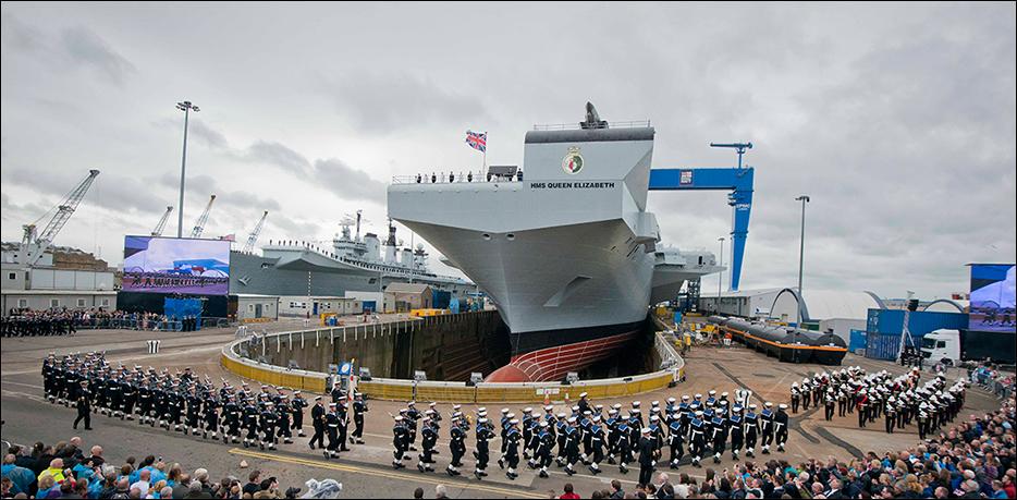 Авианосец HMS Queen Elizabeth