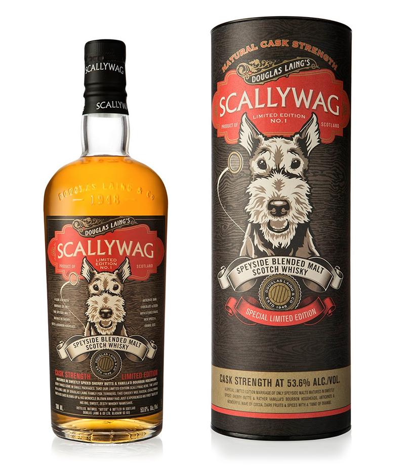 Купажированный виски Douglas Laing's Scallywag