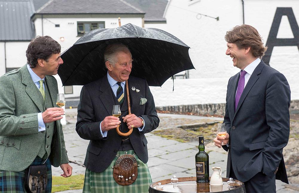 Принц Чарльз посетил Айлу