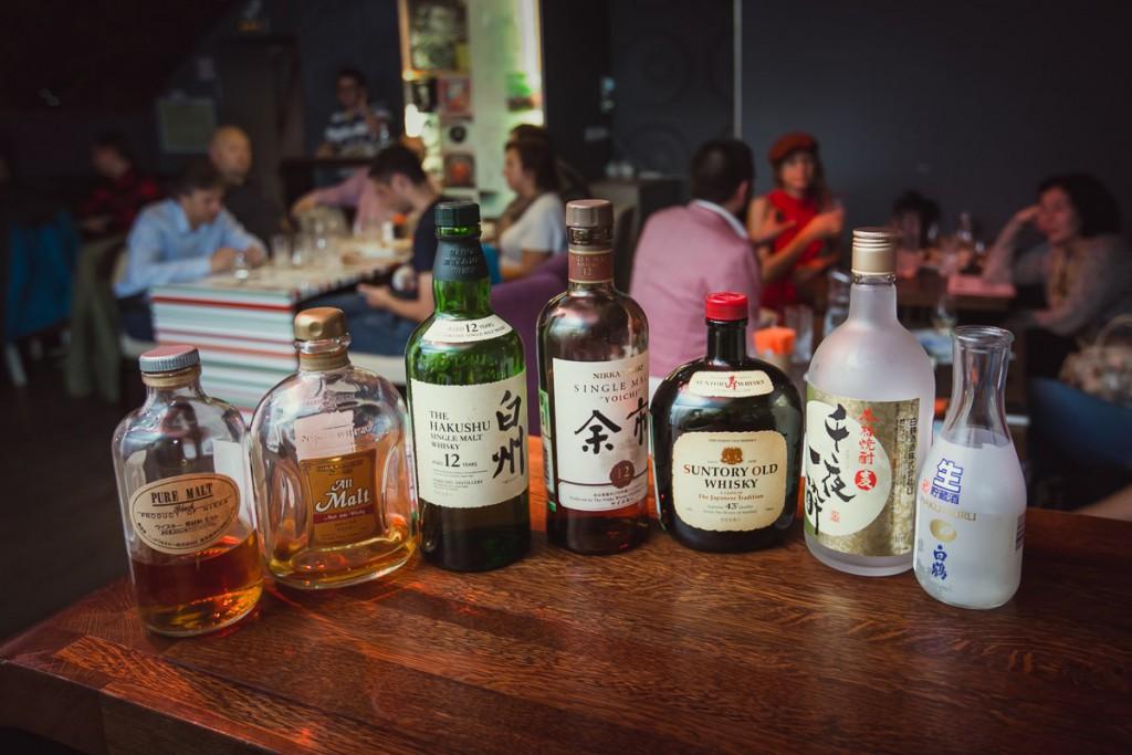 Дегустация линейки японского виски