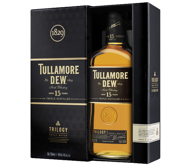 Tullamore D.E.W. Trilogy 15 Year Old