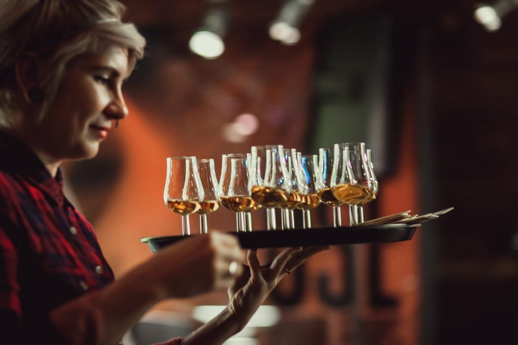 Дегустация европейского виски