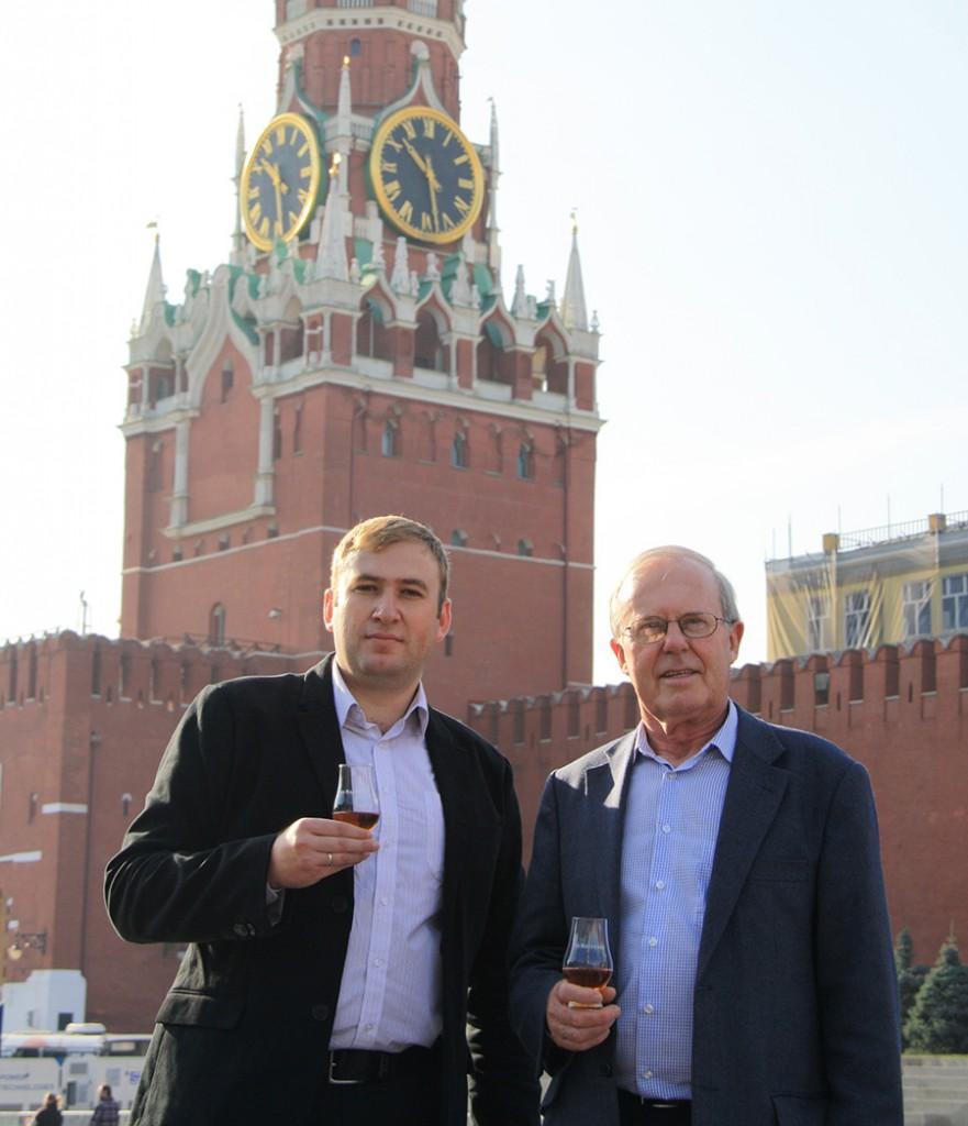 Дэвид Стюарт и Дмитрий Черкашин в Москве