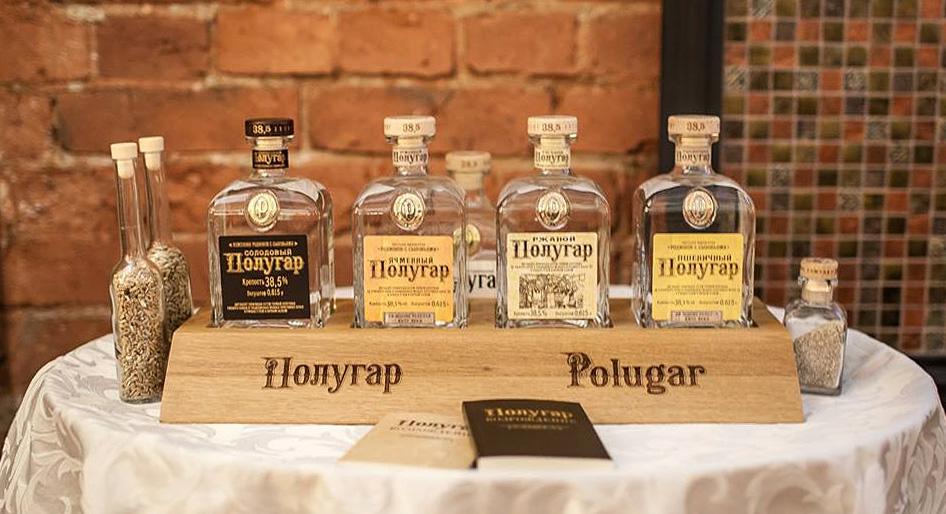 Полугар – легендарное русское хлебное вино, восстановленное с использованием традиций, технологий и рецептов XVIII и XIX вв.
