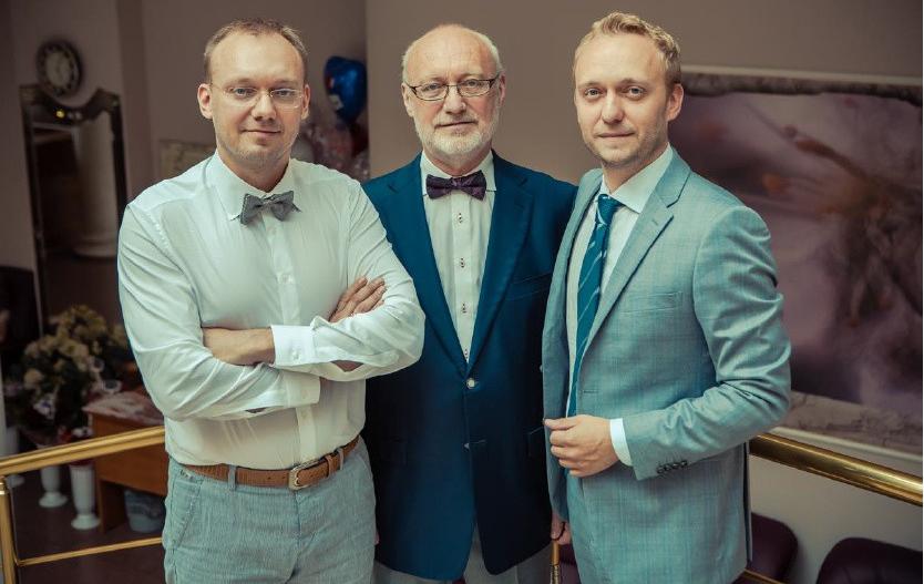 Главные лица частной винокурни «Родионов с Сыновьями»