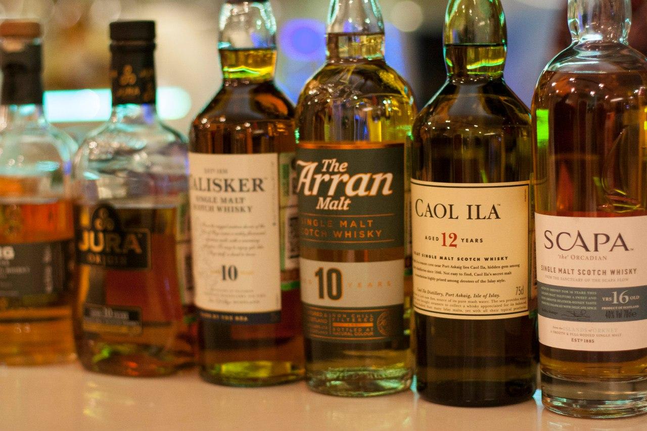 Открытый виски-клуб: Сокровище островов