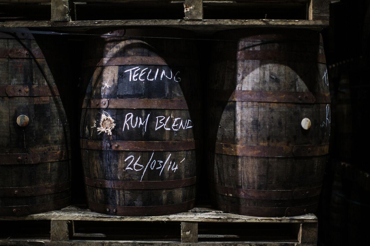 Виски Teeling с выдержкой в бочках из-под рома