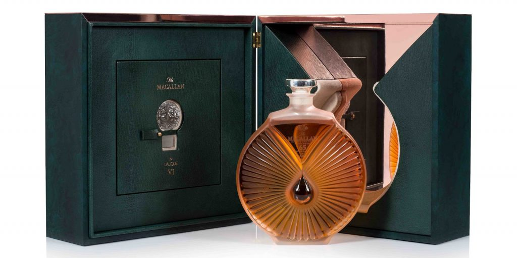 The Macallan 65 Year Old 'Peerless Spirit' Lalique Decanter 46,3% ABV