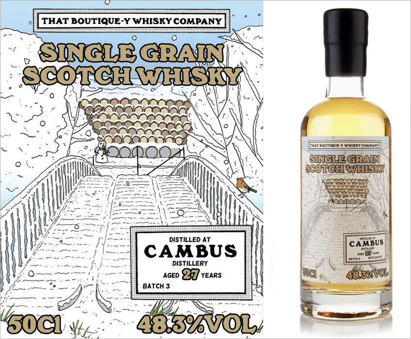 That Boutique-y Whisky Company-Cambus 27 Year Old