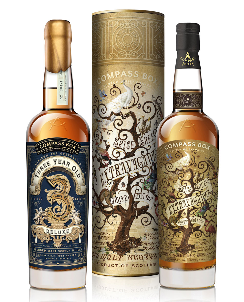 Compass Box - Three Year Old Deluxe & Spice Tree Extravaganza