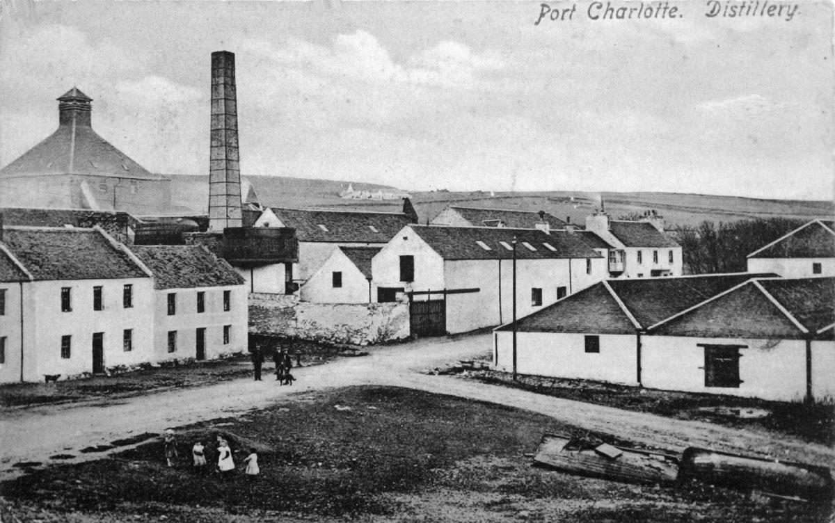 Винокурня Lochindaal в Порт-Шарлотт