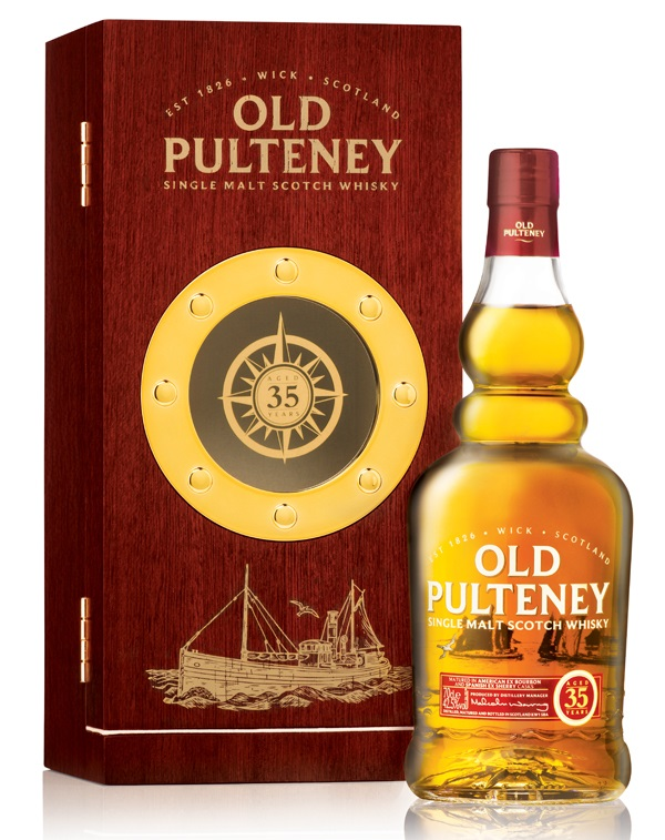 Второй релиз Old Pulteney 35 Year Old