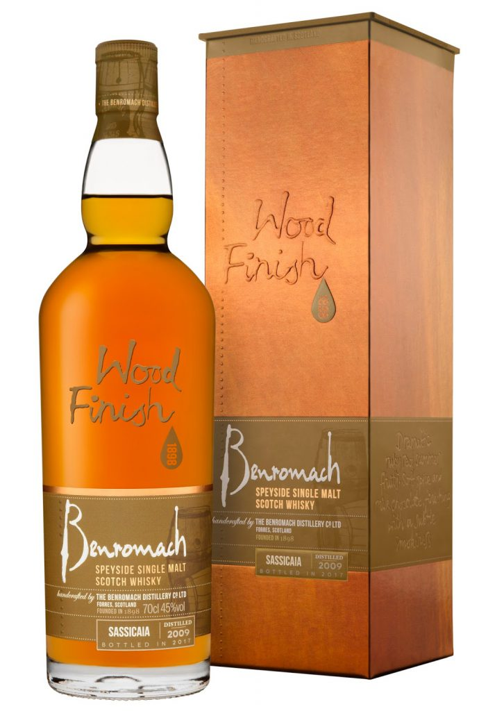 Benromach Sassicaia Wood Finish 2009