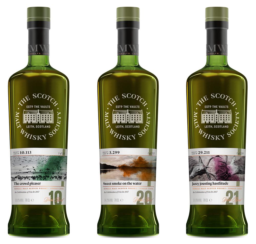 Фестивальные релизы от Scotch Malt Whisky Society