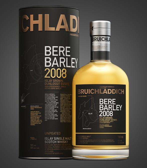 BruichladdichBere Barley 2008: Islay Grown
