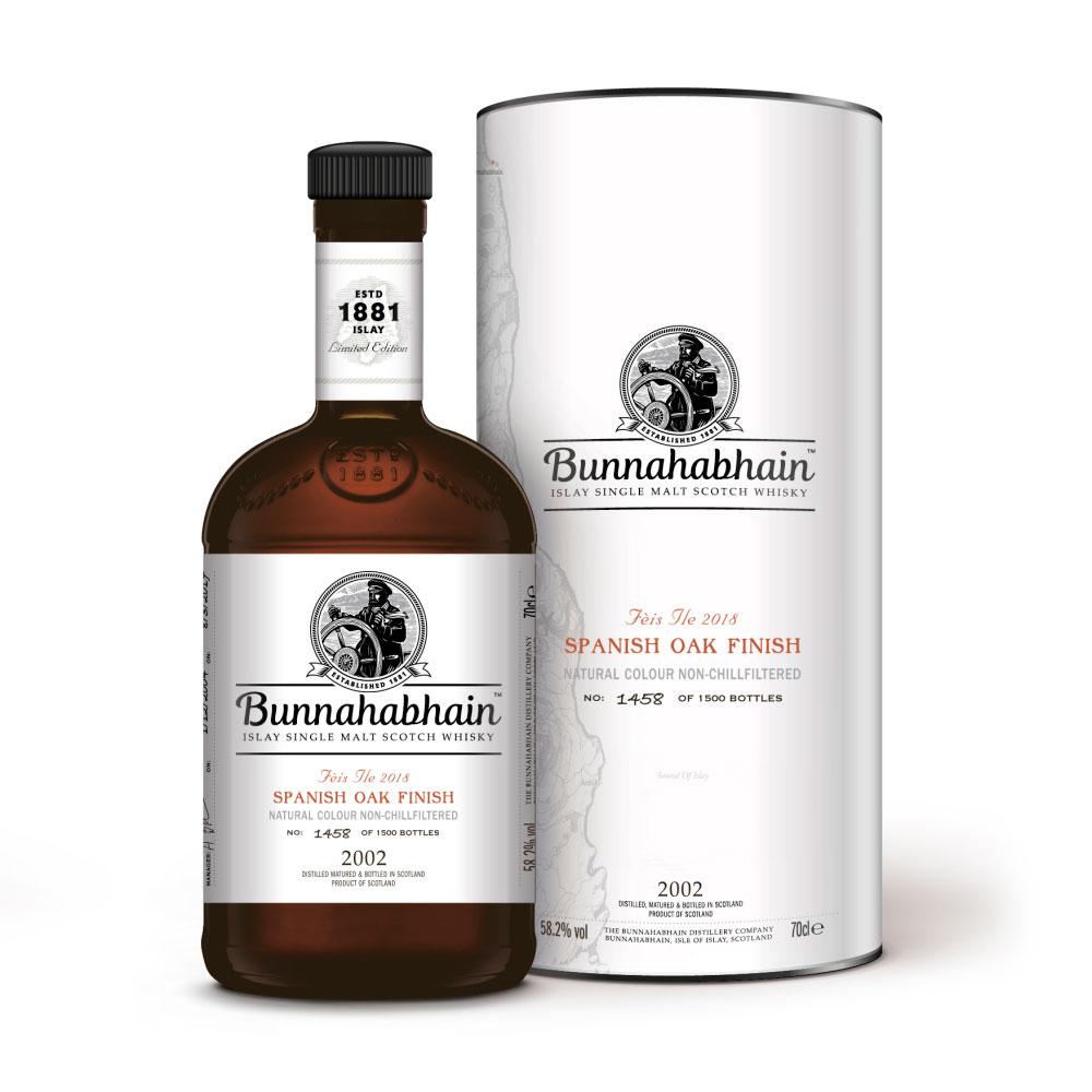 Bunnahabhain Spanish Oak Feis Ile 2018