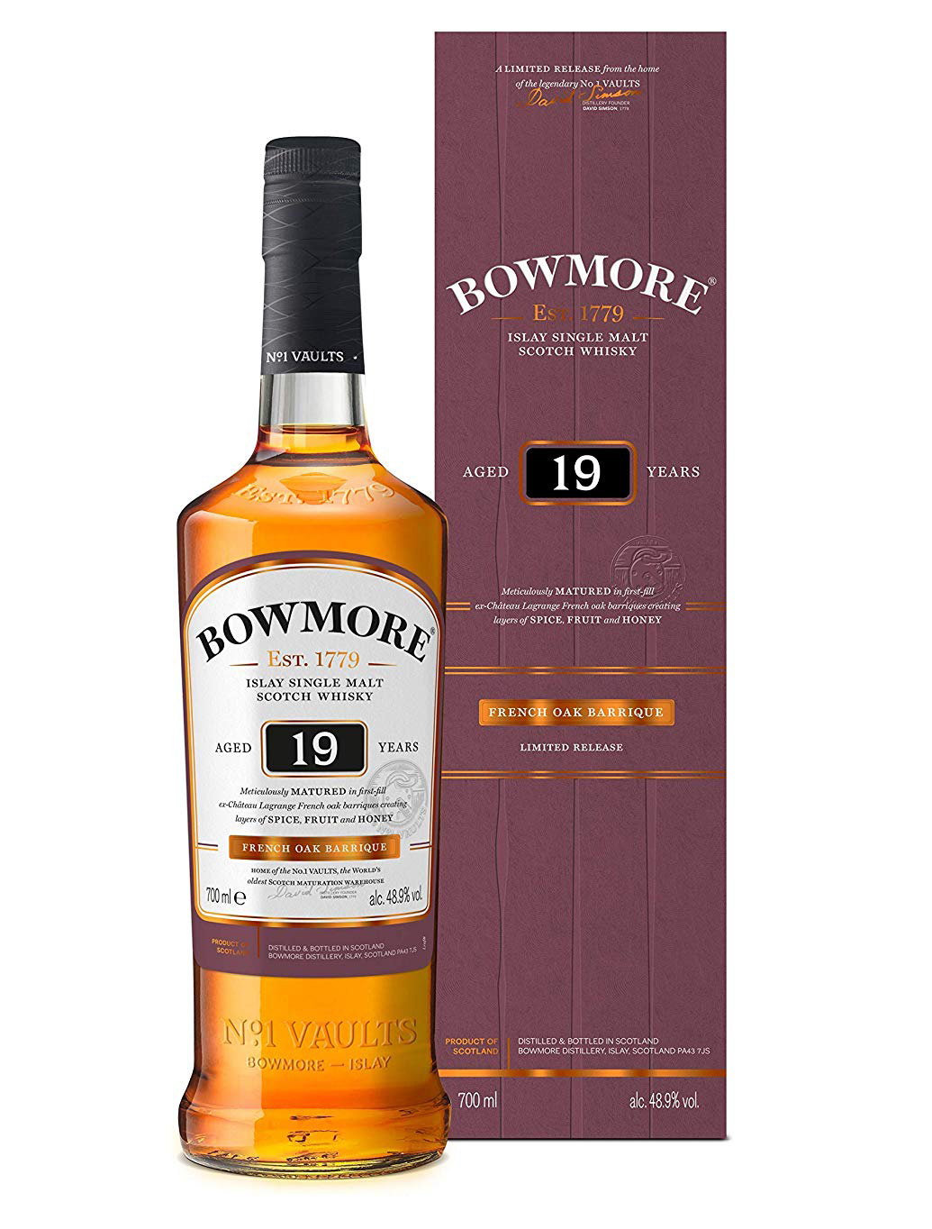 Bowmore 19 Year Old Amazon Exclusive Release