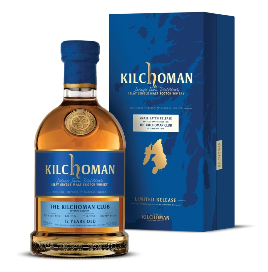 Kilchoman 12 Year Old Club Release