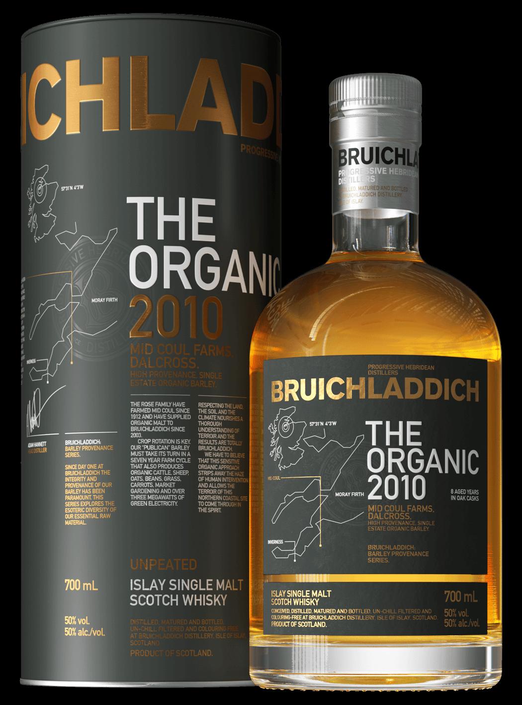 Bruichladdich The Organic 2010